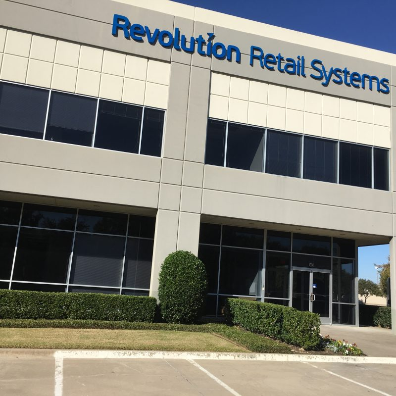 Revolution Retail Systems Non-illuminated Channel Letter Sign