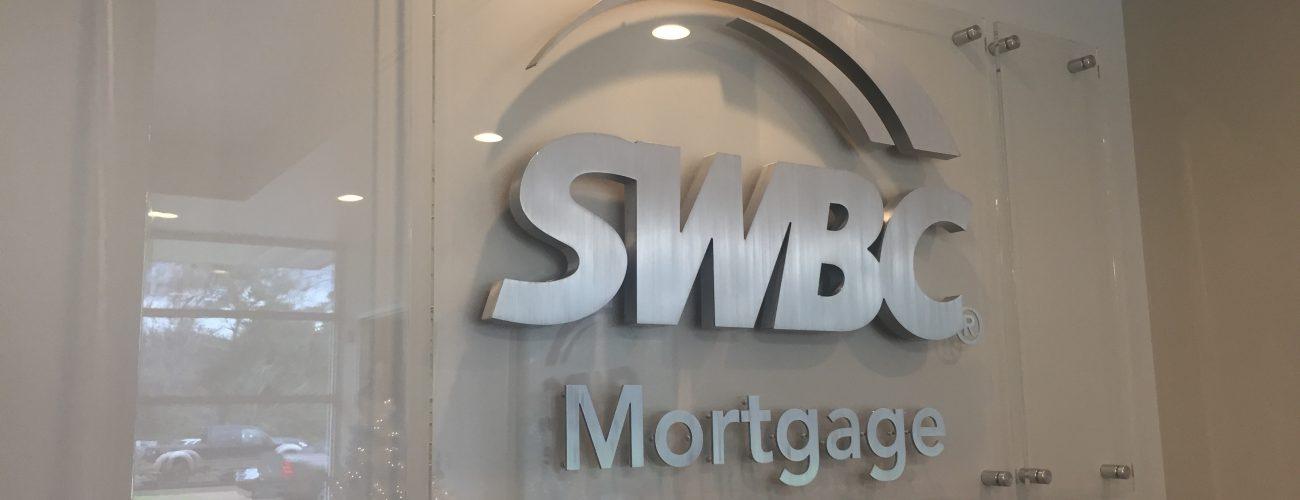 SWBC Mortgage reception sign