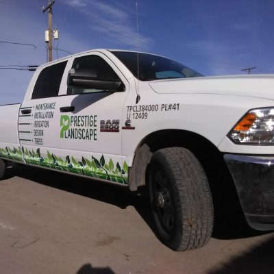 Vehicle Graphics on pick up trucks and vans