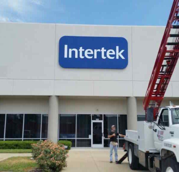 Intertek-Panface Sign
