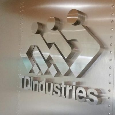 Aluminum Reception Sign