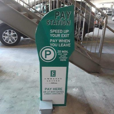 Pay Station Wrap