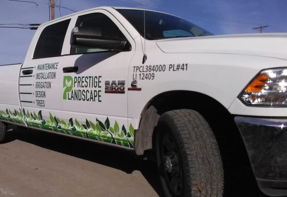 Prestige Landscape Fleet Signs