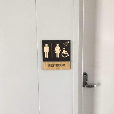 Regulatory Room Identification Signs