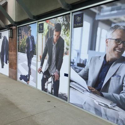 Doc Borron Storefront Window Graphics