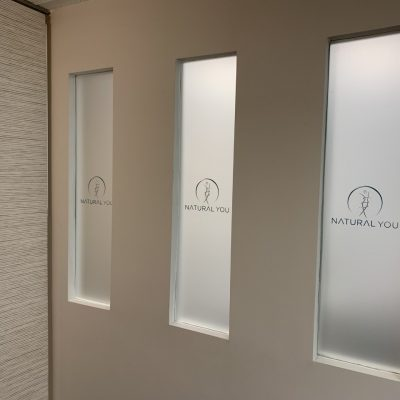 Natural You Frosted Vinyl Window Film