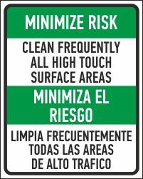 Corona virus minimize risk