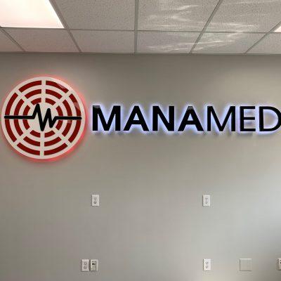 Office Illuminated Sign