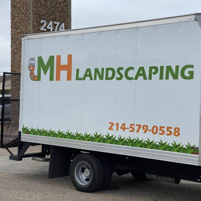 Vehicle Graphics_MH Landscaping